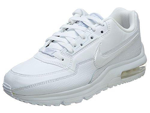Nike Zapatillas de correr para hombre Air Max Ltd 3, color Blanco, talla 47.5 EU