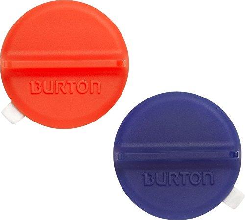 Burton Stomp Pads Mini Scraper Mats, Translucent Red/Blue, one size