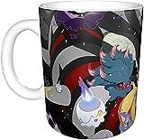 Tazza da tè Pokémon, tazza da caffè senza piombo, regalo personalizzato per donne, mamma, insegnante, sorella, compleanno, Natale
