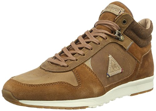 Le coq Sportif Herren GASPAR LEATHER SHOOT-153 High-Top, Braun (Tortoise Shell), 40 EU