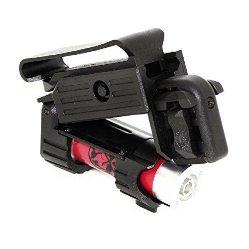 Airsoft Schießen Gear APS Smart Shot Mini Launcher mit Patrone Shell, Paintball Zylinderadapter, WAD, Siegelpapier & Gürtelschlaufe