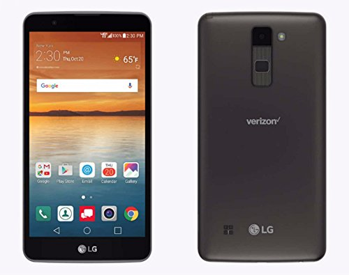 LG Stylo 2 V VS835 Verizon 16GB  Android Smartphone with 5.7in HD IPS Display and 13MP Camera - Gray (Renewed)