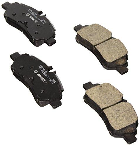Bosch BC1775 QuietCast Premium Ceramic Disc Brake Pad Set For Ford: 2015-2017 Transit-150, 2015-2017 Transit-250, 2015-2017 Transit-350, 2015-2017 Transit-350 HD; Rear