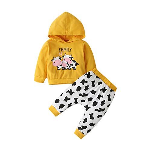 Allence Strampler Säuglingsbaby Mädchen Karikatur Tierbuchstabe Spielanzug Overall Kleidung