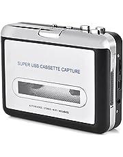 Reproductor De Cassette Portátil, Cassette USB Captura De Captura A PC Reproductor De CD Cassette Grabador Digital Audio Reproductor De Música Walkman Tipo