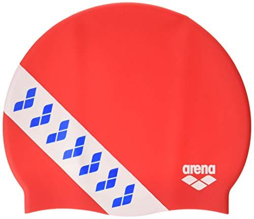 Arena Team Stripe cap, Cuffia da Gara con Bande Unisex Adulto, Multicolore (Assortment), Taglia Unica