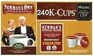 Newman's Own Extra-bold Special Blend Coffee K-Cups, Three 80 Packs (240 Total) for Keurig Brewers