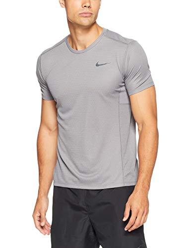 Nike Miler, T-Shirt Uomo, Gunsmoke/Heather/Atmosphere Grey/Reflective Silver, XXL