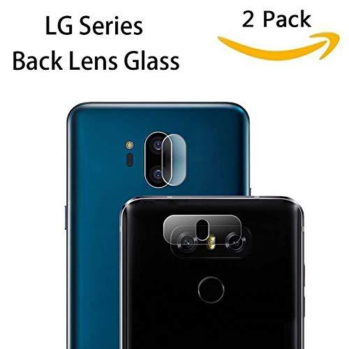 KAIBSEN® [LG Serie Zurück Kameralinse Schutz transparent klar gehärtetem Glas Protector Folie für LG G8 ThinQ/G7 ThinQ/G5/G6,LG V10/V20/V30 [2 Pack]