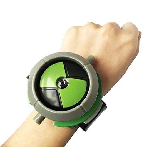 XuanAn Children Watch Ben 10 Omnitrix Toys for Kids Projector Student Watches Projector Christmas Birthday Gifts