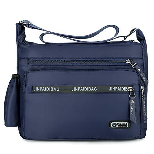 CMZ Rucksack Herrentasche Trend Herren Umhängetasche Lässige Diagonal Tasche wasserdichte Oxford Stoff Solid Color Einfache Umhängetasche
