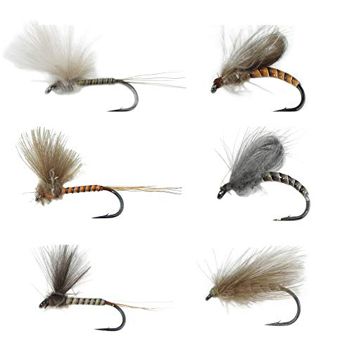 Mayfly Dry Combo Set Supreme Super Sturdy Spinners, Caddis pupa Flies Proudly from Europe