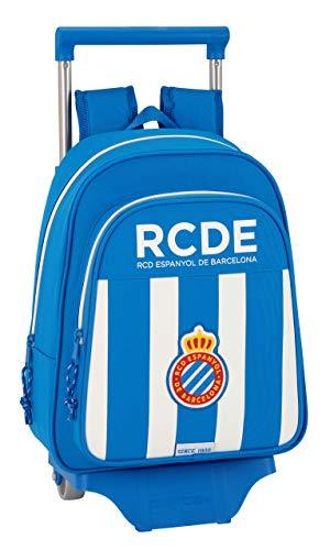 Safta Mochila Infantil R.C.D. Espanyol Oficial Con Carro Safta 125x95mm
