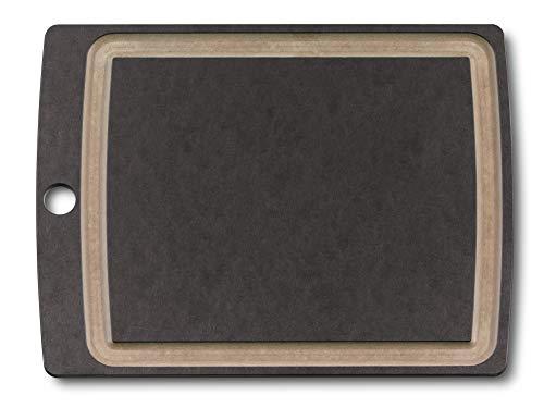 Victorinox Mittelgrosses Allrounder Schneidbrett Schneidebrett, Schwarz, 292 x 229 x 7 mm
