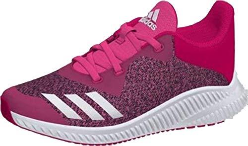 adidas adidas Unisex-Kinder Fortarun K Laufschuhe, Pink (BOPINK/FTWWHT/Shopin), 35 EU