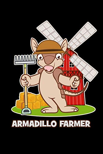 Armadillo Farmer: 6x9 120 pages quad ruled | Your personal Diary for an Awesome Summer
