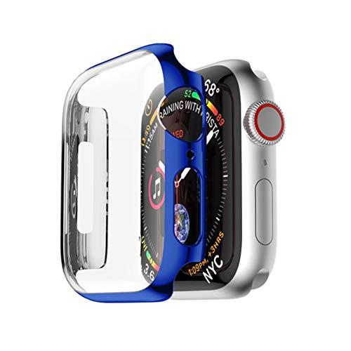 Funda de PC para Apple Watch 4 Banda protectora de pantalla de 3 bandas 42 mm 44 mm 38 mm 40 mm Cubierta protectora de marco resistente a roturas 44