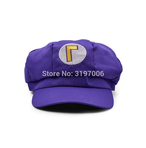 Peluches Peluches Anime Super Mario Hat Cap Luigi Wario Waluigi Bros Cosplay Disfraz De Bisbol Sombreros De Dibujos Animados Regalos 60 * 7Cm