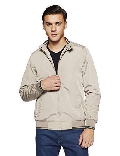 Allen Solly Men's Jacket (ASJKOBOPJ62517_Ecru_M)