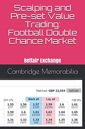 Scalping and Pre-set Value Trading: Football Double Chance Market: Betfair Exchange