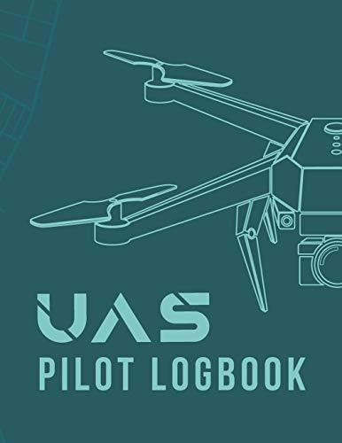 UAS Pilot Logbook: Drone Flight Time & Flight Map Record; Drone Flight Log Book; Drone Flight Planning; Drone Flight Training Journal ; First Drone ... Pilot Gift ; Drone Journal ; Drone Log Book