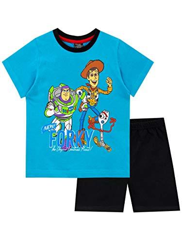 Disney Pijamas de Manga Corta para niños Toy Story Azul 6-7 Años