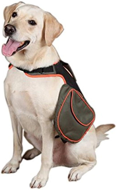 Guardian Gear Polyester Dog Back Pack, Medium, Green