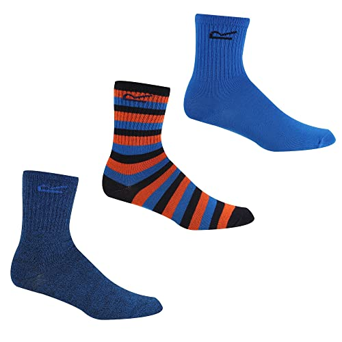 Regatta Outdoor Kids Socks 3 Pairs EU 29-31