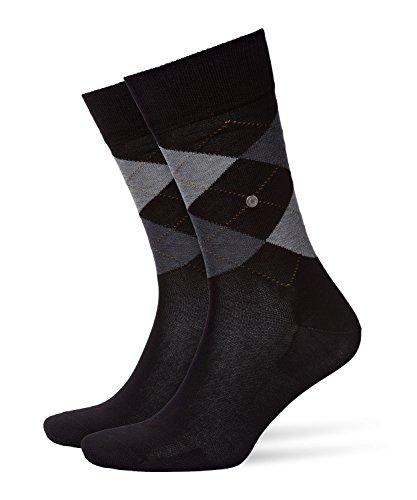 Burlington Herren Socken 20182 Manchester Socke, Schwarz (Black 3000), 46-50