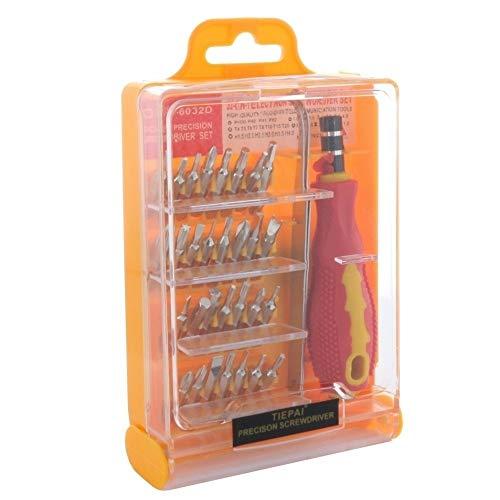 Preisvergleich Produktbild 32 in1 Präzisions-Schraubendreher-Set für Smartphone,  Tablet-PC etc. in Kunststoffbox