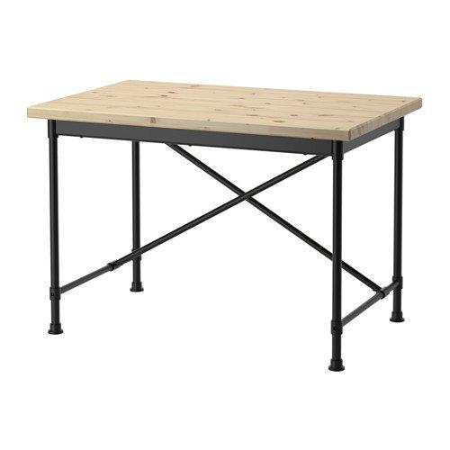 IKEA Schreibtisch Kiefer schwarz 14204.20817.3838