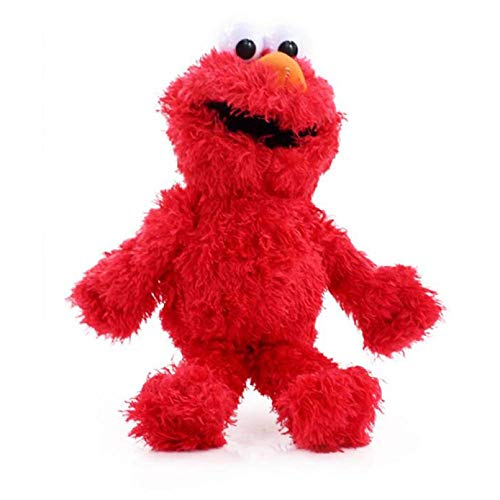 Sesame Street Peluche Toys Elmo Zoe Ernie Oscar Cookie Grover Big Bird Stuffed S Soft Dolls Regalos de cumpleaños (Color: Elmo) Dedu (Color : Elmo)