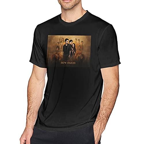 Camiseta de los hombres de cuello redondo casual camiseta de moda manga corta básica camisas