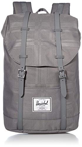 Herschel Unisex-Erwachsene Retreat Multipurpose Backpack, Quiet Shade Plaid, Classic
