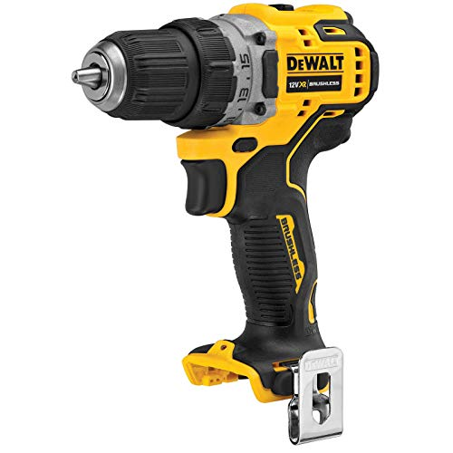 Dewalt DCD701N-XJ Battery-Powered Drill bit 12 V (Basic), Black/Yellow