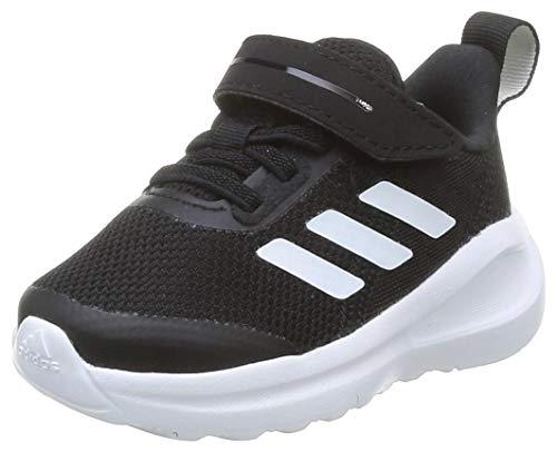 adidas Fortarun El I, Scarpe da Ginnastica Unisex-Bimbi 0-24, Core Black/Ftwr White/Core Black, 21 EU