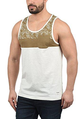 !Solid FLO - Camiseta sin Mangas Hombre, tamaño:L, Color:Ermine (5944)