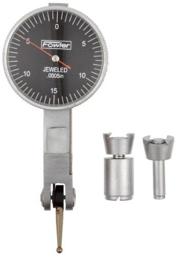 Fowler - 52-562-778-0 52-562-778 Black Face Dial Test Indicator, 0.030' Maximum Measuring Range, 0.0005' Graduation Interval, 1' Diameter