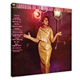 Aretha Franklin's Album Cover – lachend auf der