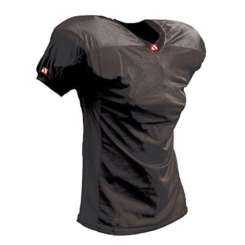 BARNETT FJ-2 - Camiseta de fútbol Americano (Talla L), Color Negro