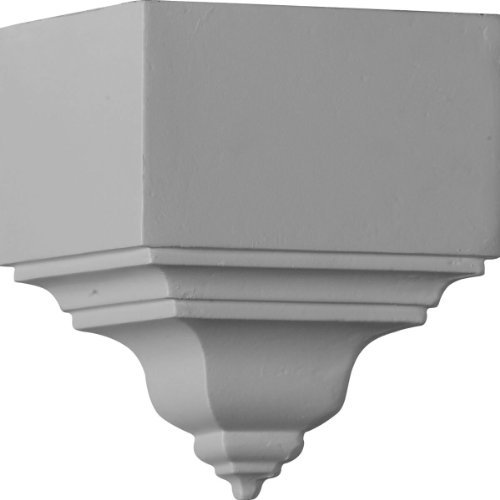 Ekena Millwork MOC03X03BI 3 1/8-Inch P x 7 3/4-Inch H Outside Corner for Molding Profiles Less Than 3 1/8-Inch P and 3 7/8-Inch H by Ekena Millwork