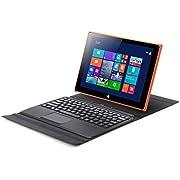 iRULU Walknbook Tablet (10.1 Zoll) / Laptop 2-in-1 (W20) Windows 10 Notebook & Computer mit abnehmbarem Keyboard Intel Quad Core Prozessor Perfekt für Arbeit Spiele & Unterhaltung 2GB + 32 GB Speicher