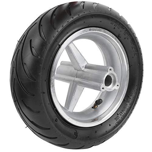 Patrocinado Accesorios para motocicletas Repuestos, confiables para usar, reemplazo de goma para neumáticos con patrones antideslizantes para mini bicicleta de bolsillo(rear wheel)