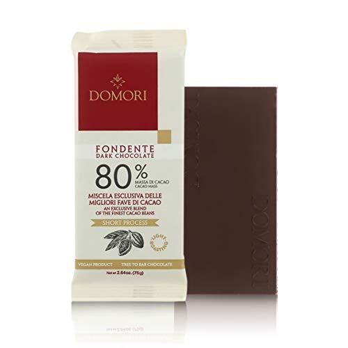 Tableta Chocolate Negro 80% Cacao Trinitario - 75 Gramos