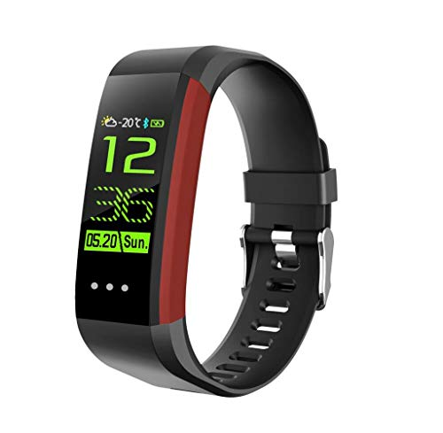 CHERRIESU Fitness Trackers,Fitness Watch with Heart Rate Monitor Waterproof IP67 Pedometer Watch Activity Trackers Watch Step Counter for Kids Women Men Call SMS Push for iOS Android Phone