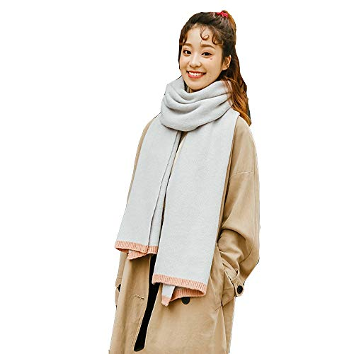 LIUQIAN Étudiant épaissie Foulard Lady Winter Double Long châle Cou Chaud