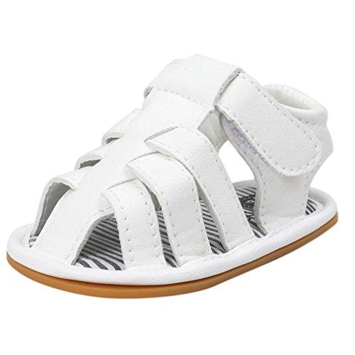 Zapatos Bebe Niño Verano Xinantime Lona Sandalias de Velcro Suela Blanda Zapatos...