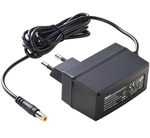 PremiumCord Universal Netzteil 230V/ 5V/ 1A DC, Netzadapter AC/DC, Stromadapter und Stromkabel für Router und weitere 5V-Geräte, Ausgangsstecker 5, 5mm/ 2, 1mm