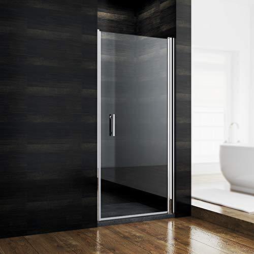 glastuer dusche nische