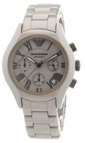 Emporio Armani Herren-Armbanduhr XL Chronograph Quarz Keramik AR1460